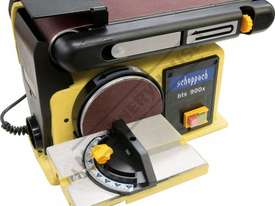bts 900x Belt & Disc Linisher Sander 100 x 915mm (W x L) Belt Ø150mm Disc - picture13' - Click to enlarge