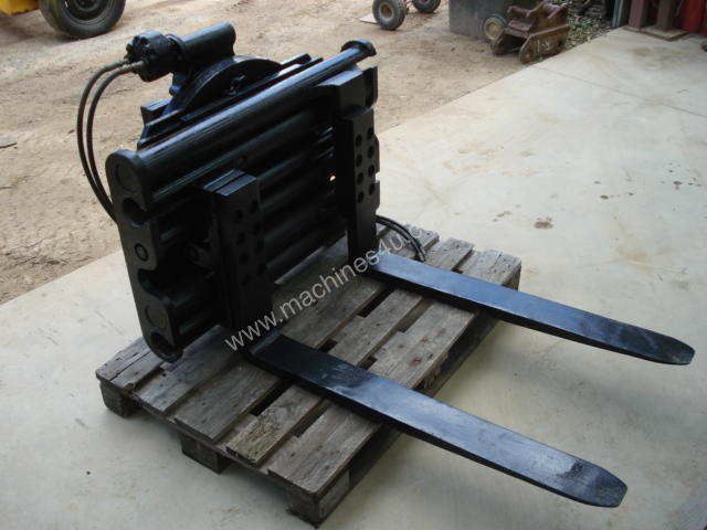 Used Fp10 Forklift Rotator Attachment In Listed On