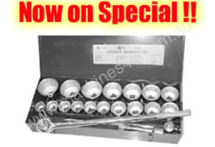 TOOLTEC 3/4\ Drive 27 Piece Metric Socket Set