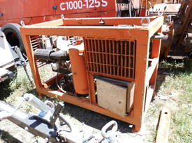 14hp diesel powered , radio remote hydraulic  - picture2' - Click to enlarge