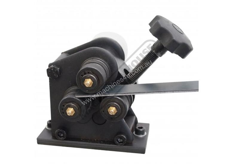 RR-5G Manual Section Rolling Machine 25 x 3mm Flat Bar Capacity Bench Mount