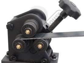 RR-5G Manual Section Rolling Machine 25 x 3mm Flat Bar Capacity Bench Mount - picture7' - Click to enlarge