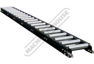 RC-290 Roller Conveyor 290 x 3000mm Ø50mm Rollers