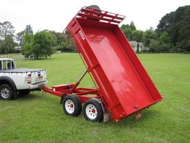 No7HD Tandem Axle Hydraulic Tip Utility Trailer  - picture0' - Click to enlarge