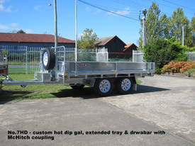 No7HD Tandem Axle Hydraulic Tip Utility Trailer  - picture5' - Click to enlarge