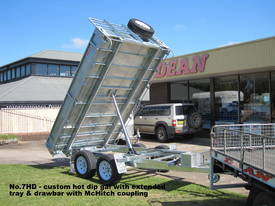 No7HD Tandem Axle Hydraulic Tip Utility Trailer  - picture6' - Click to enlarge