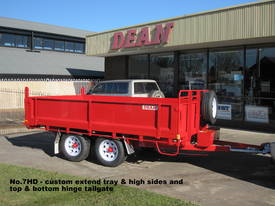 No7HD Tandem Axle Hydraulic Tip Utility Trailer  - picture9' - Click to enlarge
