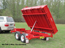 No7HD Tandem Axle Hydraulic Tip Utility Trailer  - picture12' - Click to enlarge