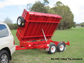 No7HD Tandem Axle Hydraulic Tip Utility Trailer  - picture10' - Click to enlarge