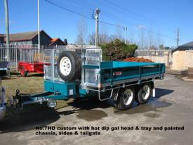 No7HD Tandem Axle Hydraulic Tip Utility Trailer  - picture4' - Click to enlarge