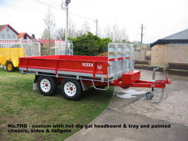 No7HD Tandem Axle Hydraulic Tip Utility Trailer  - picture3' - Click to enlarge