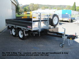 No7HD Tandem Axle Hydraulic Tip Utility Trailer  - picture14' - Click to enlarge