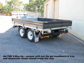 No7HD Tandem Axle Hydraulic Tip Utility Trailer  - picture15' - Click to enlarge