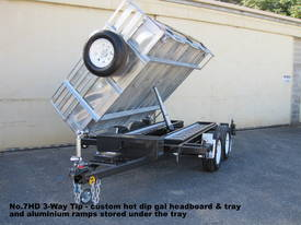 No7HD Tandem Axle Hydraulic Tip Utility Trailer  - picture16' - Click to enlarge