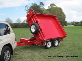 No7HD Tandem Axle Hydraulic Tip Utility Trailer  - picture13' - Click to enlarge