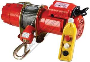 CP250 Electric Winch 250kg Lifting Capacity 30 Metre Lifting Height