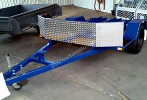 Blyth Built motor bike trailer