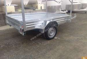 mcneill 8*5 box trailer-heavy duty with racks for