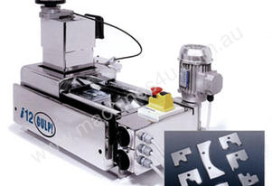 HARD METAL GRINDING LAPPING MACHINE I12 GULP BY ILMETCECH ITALY - TABLE 200MM MOTOR 1.1KW, 400V3PH50
