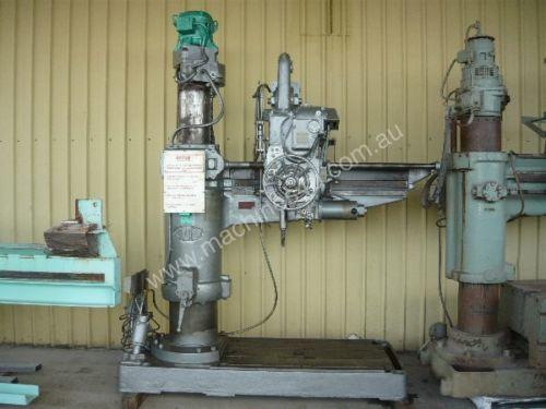 ASQUITH No 5 MORSE TAPER RADIAL ARM DRILL