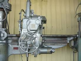 ASQUITH No 5 MORSE TAPER RADIAL ARM DRILL - picture0' - Click to enlarge