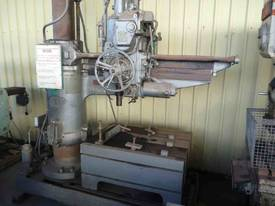 ASQUITH No 5 MORSE TAPER RADIAL ARM DRILL - picture2' - Click to enlarge
