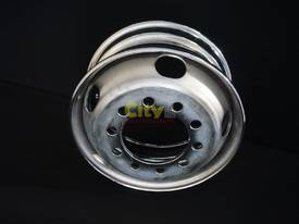 10/225 6.75x17.5 Chrome Steel Rims - picture2' - Click to enlarge