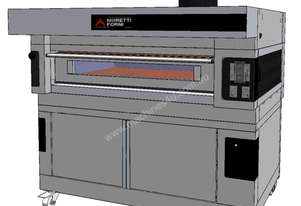 Moretti COMP S125E/1/L Single Deck Electric Deck Oven with Prover