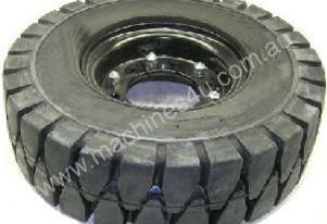 Forklift Rim and Solid Tyre 600 x 9 for TCM forkli