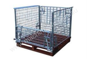 Pallet Cage with Timber Pallet