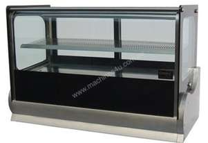 DGV0540 1200mm Countertop square showcase