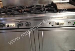 Mec 6 burner stove Plus 2 oven