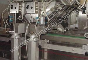 Automatic line for the production of ice cream sti