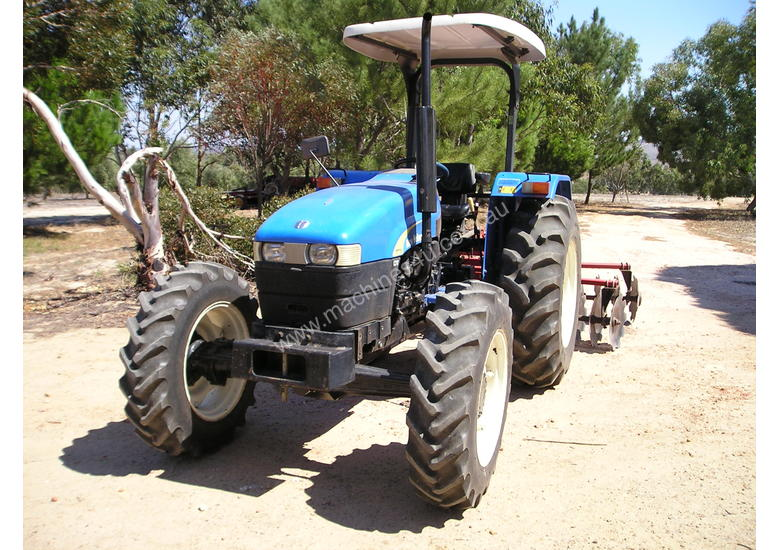 New Holland 75hp 4x4 Tractors : Used new holland tt wd tractors hp in