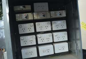 Temporary 3 Phase Power distribution board