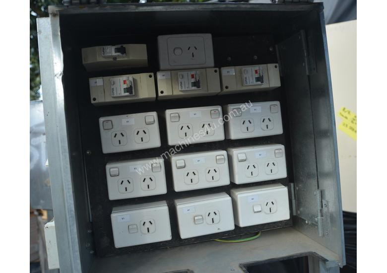 Used Temporary 3 Phase Power distribution board Distribution Board ...