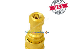 Steamaster 1/4F Brass Quick Coupling