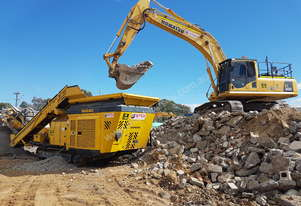 Impact Crusher for Hire Wet Hire we come to you