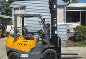 TCM 2.5 ton, LPG, good Used Forklift