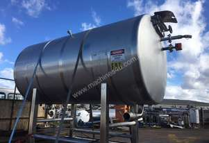 Stainless Steel tank.