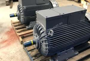 70 kw 100 hp 6 pole 415v Slip Ring Electric Motor
