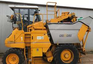 Used Gregoire Harvester with side hopper