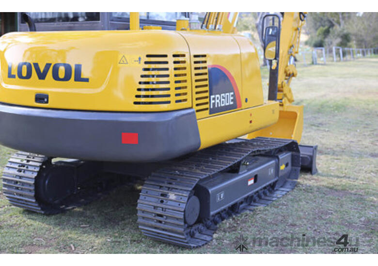 NEW LOVOL  FR60E  6 tonne  Excavator  tracked   including 2 year full warranty