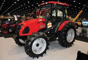 4WD TRACTOR WITH AIR CONDITIONED CAB