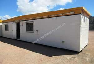 12m - Portable Building – Offices - 3 rooms