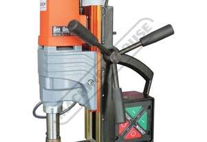 EM-50 Portable Magnetic Drill Includes 2 x Drilling Speeds 250 / 450rpm Ø50mm Drill Capacity - Manu