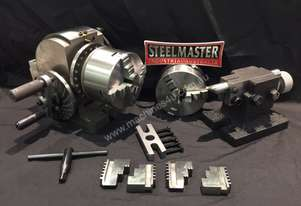 Semi Universal Dividing Head, Comes With 3-4 Jaw Chucks 100mm.