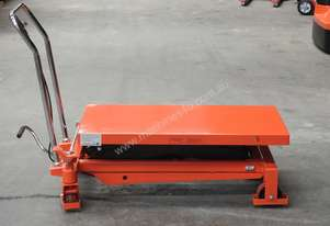 1T Hydraulic scissor lift table/trolley