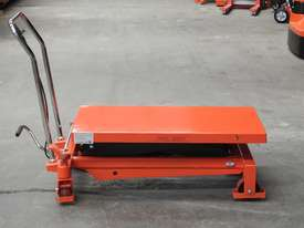 1T Hydraulic scissor lift table/trolley - picture0' - Click to enlarge