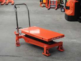 1T Hydraulic scissor lift table/trolley - picture1' - Click to enlarge